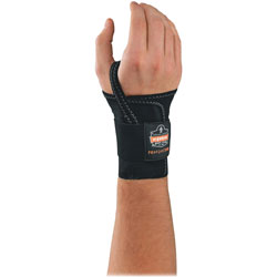 Ergodyne ProFlex 4000 Wrist Support, Small, Right, Black