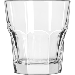 Libbey 15232 10 Ounce Duratuff Gibraltar Rocks Glass, Clear