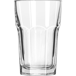 Libbey 15237 10 Ounce Duratuff Gibraltar Hi Ball Glass, Clear