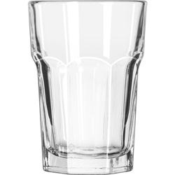 Libbey Gibraltar Glass Tumblers, Beverage, 12oz, 4 7/8 Tall, 36/Carton