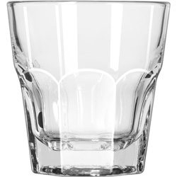 "Libbey Gibraltar Rocks Glasses, Rocks, 8 oz, 3 5/8"" Tall"