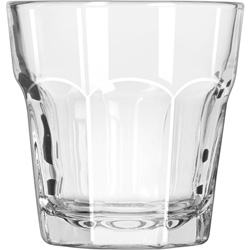 Libbey 15241 7 Ounce Duratuff Gibraltar Rocks Glass, Clear