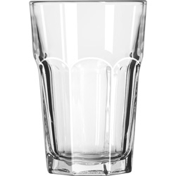 Libbey Gibraltar Glass Tumblers, Beverage, 14oz, 5 1/8 in Tall, 36/Carton
