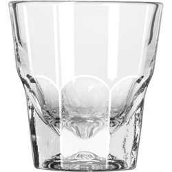 "Libbey Gibraltar Rocks Glasses, Rocks, 4.5oz, 3 1/8"" Tall, 36/Carton"