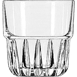 Libbey 15433 8 Ounce Duratuff Everest Rocks Glass, Clear