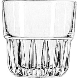 Libbey 15434 9 Ounce Duratuff Everest Rocks Glass, Clear