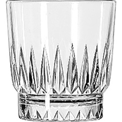 Libbey 15454 8 Ounce Duratuff Winchester Rocks Glass
