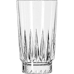 Libbey 15456 9 Ounce Duratuff Winchester Hi Ball Glass