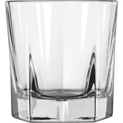 Libbey 15480 7 Ounce Duratuff Inverness Rocks Glass