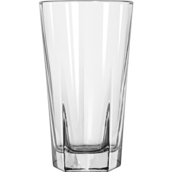 Libbey Inverness Glass Tumblers, Beverage, 12 oz, Clear, 36/Carton