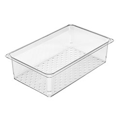 Cambro Food Pan Colander 1/1 Camwear® 5 in Clear