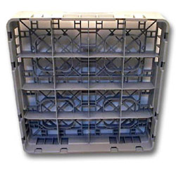 Cambro Camrack Full-Size 16 Compartment Cup Rack