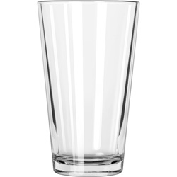 Libbey Restaurant Basics Glass Tumblers, Mixing Glass, 16oz, 5 7/8 in Tall, 24/Carton
