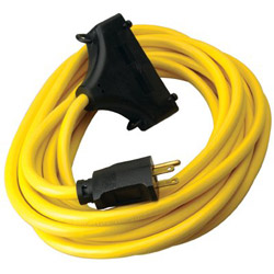 Coleman Cable 01910 12/3 25' Sjtw Generatorcord