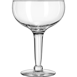 Libbey Super Stem Margarita Glasses, 56 oz, Clear, 6/Carton