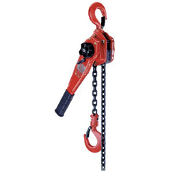 "Coffing Hoists 09431 1-1/2"" Ton Steel Hoist w/10 Ft Lift"