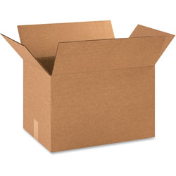 "Box Partners 18"" x 12"" x 12"" Brown Corrugated Boxes"