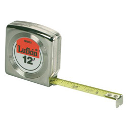 "Cooper Hand Tools 45798 1/2"" x 12' Economy Tape Rule"