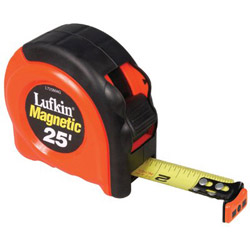 Cooper Hand Tools 700 Series Power Magnetic Endhook Tape Measure, 25ft