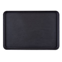 Cambro Tray Camtread 18 in X 26 in Rectangle Black