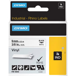 Dymo Permanent Adhesive vinyl Tape - 1 Roll(s)