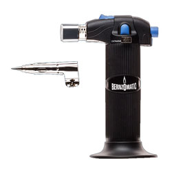 Bernzomatic ST2200T-Trigger-Start 3-in-1 Micro Butane Torch, Refillable