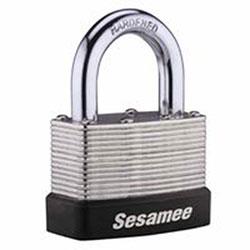 CCL Sesamee Keyless Padlocks, 5/16 in Diam., 1 in L X 1 in W, Brass