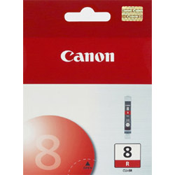 Canon Ink Cartridge, Cli-8 Red, Canon