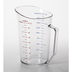 Cambro Measuring Cup 2 Quart Clear