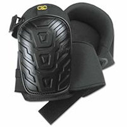 CLC Custom Leather Craft Professional Tread-Pattern Kneepads, Black, One Size, Neoprene/Elastic