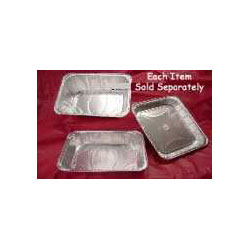 Handi-Foil 201450 Disposable 1/2 Size Extra Deep Aluminum Steam Table Pan