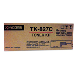 Kyocera TK 827C - Toner Cartridge