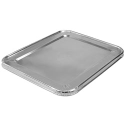 Handi-Foil Lid with Full Curl Edge for Half Steam Table Pan