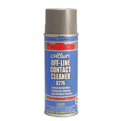 Crown Off Line Contact Cleaner