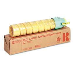 Ricoh Type 145 Toner Cartridge - 1 x Yellow - 15000 Pages