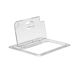 Cambro Food Pan Fliplid 1/2 Camwear® Clear