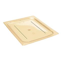 Cambro Food Pan Lid 1/2 H-Pan® Flat Amber