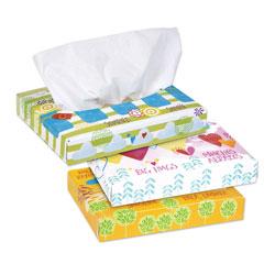 Kleenex White Facial Tissue Junior Pack, 2-Ply, 40 Sheets/Box, 80 Boxes/Carton