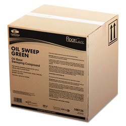 Theochem Laboratories Oil-Based Sweeping Compound, Grit-Free, 50lbs, Box