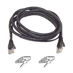 Belkin High Performance - Patch Cable - RJ45 (M) - RJ45 (M) - 20' - UTP - (CAT 6) - Black