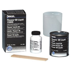 Devcon 1-lb Flexane 80 Liquidmedium-hard