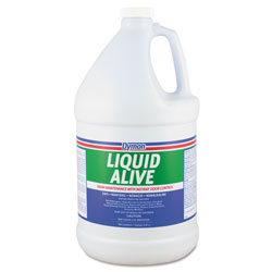 ITW Dymon LIQUID ALIVE Enzyme Producing Bacteria, 1gal, Bottle, 4/Carton