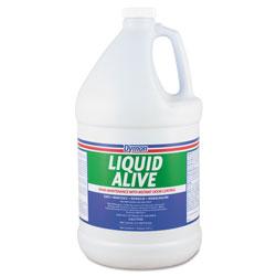 ITW Dymon LIQUID ALIVE Enzyme Producing Bacteria, 1gal, Bottle, 4/Carton