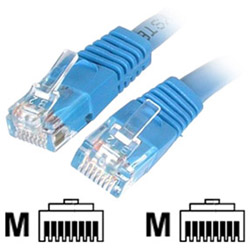 Startech Molded Cat 6 UTP Patch Cable - ETL Verified - Patch Cable - 1 ft