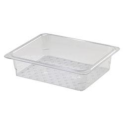 Cambro Food Pan Colander 1/2 X 3 in Camwear® Clear
