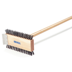 Carlisle Foodservice Products Carbon Steel Scrub Brush, 30 in