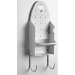 Rubbermaid White Ironing Organizer Wall Mounted