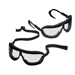 AO Safety Fectoggles Large Elasticheadband Clear Lens