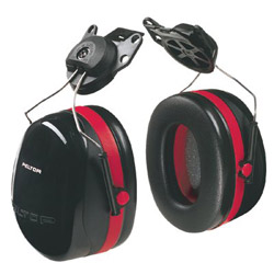 Peltor Dual Cup Helmet Attachment Hearing Pro