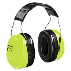3M Peltor Optime 105 Hi-Viz Earmuffs, NRR 30